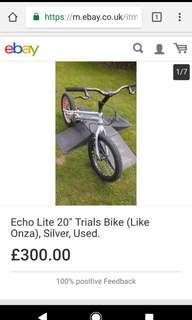 ECHO Trial Bike for sale
