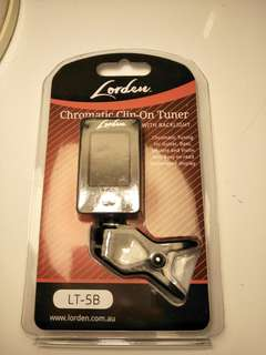 LORDEN chromatic clipon guitar tuner