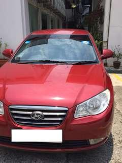 Hyundai Avante 1.6A for rent