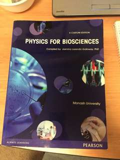 Physics for bioscience