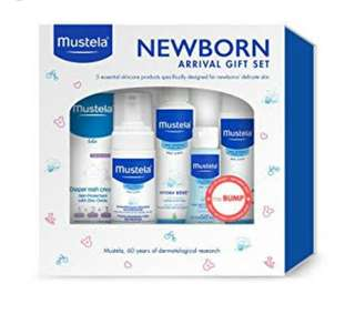 Pre Order Mustela Gift Set for 0+ months
