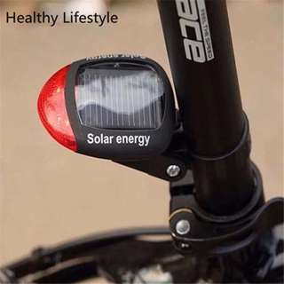 Bicycle Solar Power LED Rear Light