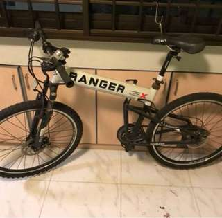 Ranger X foldable bicycle for sale