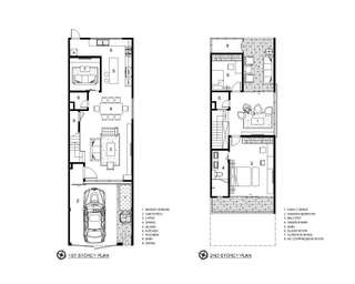 Interior design - 3d perspectives & Layout plans