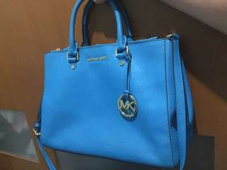 Michael Kors Sutton turquoise AUTHENTIC PRELOVED