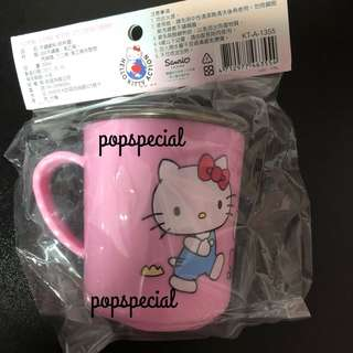 Hello Kitty Cup with cover  Stainless Steel