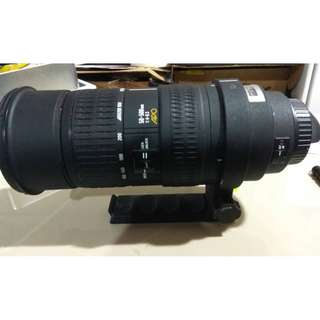 Sigma 50-500mm f/1:4-6:3 APO DG OS HSM Lens for Nikon
