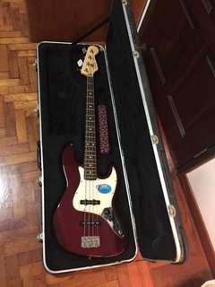 Fender Jazz Standard Bass (Comes with Hard Case)