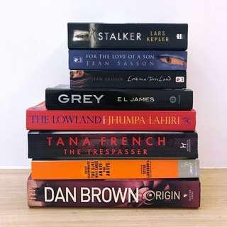 Dan Brown Origin + 7 Other Fiction