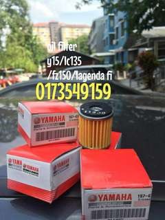 oil filter y15zr / fz150 / lc135 / lagenda fi