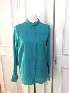 Penshoppe Polo Top size M on tag