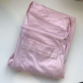 French Connection pink skinny leg jeans