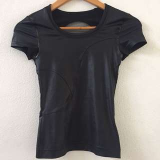 Adidas By Stella McCartney Perforated Running Tee
