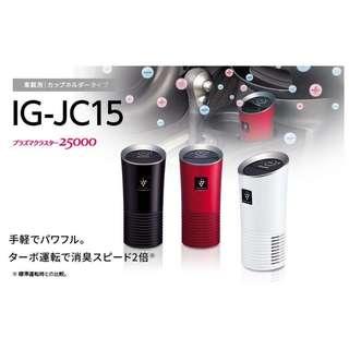 🇯🇵 日本夏普 SHARP IG-JC15 車用 空氣清淨機 負離子 黑/白 現貨