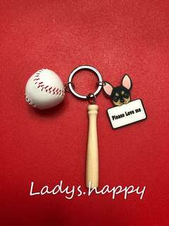 法鬥❌棒球⚾️鎖匙扣