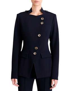 Ginger & Smart Sequel Jacket in French Navy - Size 6/8 BNWT RRP $700