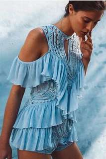 Alice McCall playsuit blue 6