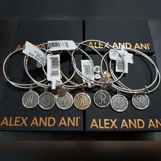 ALEX and ANI BANGLES INITIALS