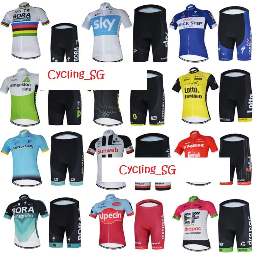 2018 Team Cycling Jersey Set 3ea09b429