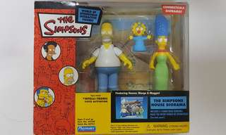 The Simpsons Diorama