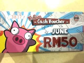 Naughty Nuri June RM50 Voucher
