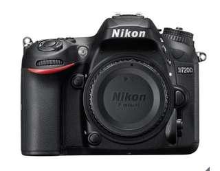 NIKON D7200 單眼相機 (含 35MM F1.8 鏡頭)