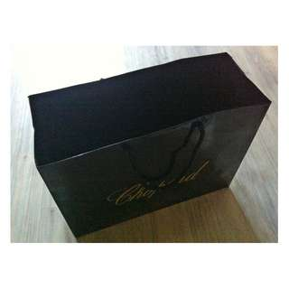 (半價) CHOPARD (H) Paper Shopping Gift Bag 紙袋 禮物袋 (Half Price)