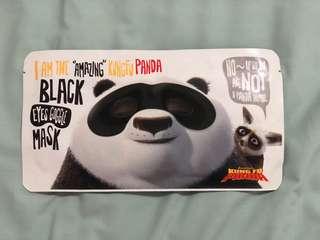 Kungfu Panda Black Eyes Goggle Mask