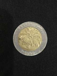 Koin Rp 1000 kelapa sawit Indonesia