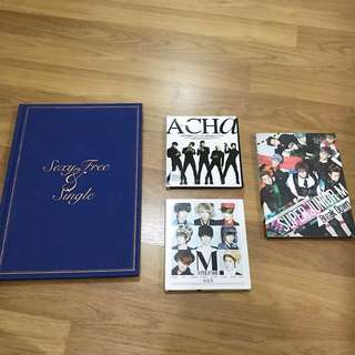 [CLEARANCE] KPOP SUPER JUNIOR ALBUMS
