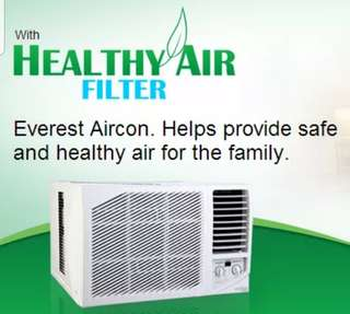 Everest Aircon Window Type 1.5HP