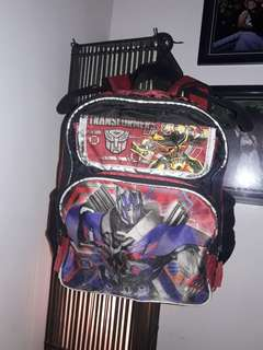 Transformer backpack