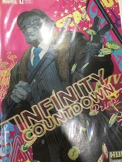 Marvel Comics Infinity Countdown Prime Hulk Variant
