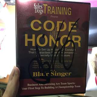 🚚 Life Changing CDs - Blair Singer Code of Honor CD with Signature