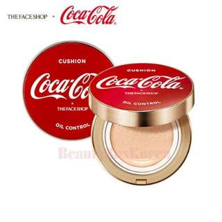 The Face Shop x Coca Cola Oil Control Cushion