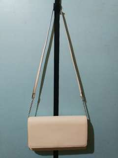 H&M White Formal bag