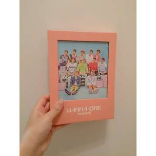 🚚 WANNA ONE / 1x1=1 (TO BE ONE) 台灣獨占初回限定 PINK盤