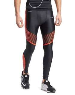 Nike Power Speed Tights ( Black/Bright Crimson) // Running