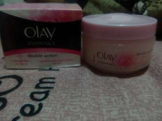 Olay Essentials double action Day and night cream bundle