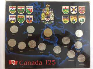 1992 Canada 125th Anniversary Commemorative Coin Set