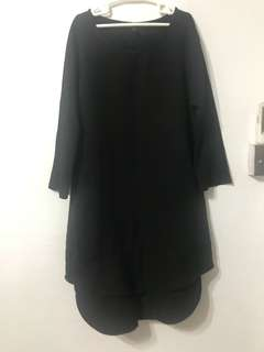 🚚 Long Sleeve Black Dress