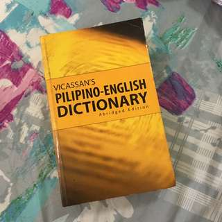 Pilipino - English Dictionary