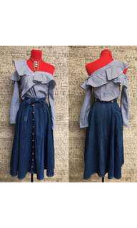 Set top & skirt