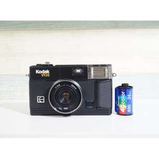 38mm定焦!!文青呀!! KODAK VR35 K6 38mm 1:5.6 AF point and shoot Film Camera TESTED WORKING 菲林相機 傻瓜機 文青!!