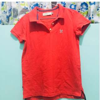 Regatta red polo shirt