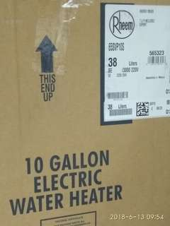 10 GALLON Electric water heater