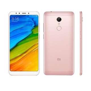 Kredit Xiaomi Redmi 5 Plus Rosegold 3/32 Garansi Distributor