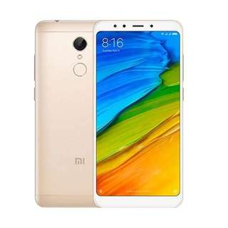 Kredit Xiaomi Redmi 5 Plus 3/32 Gold Garansi Distributor