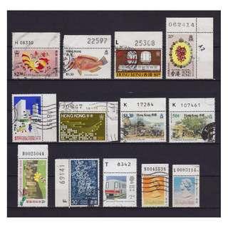 香港號碼位舊票一頁