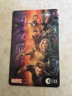 Infinity War themed EZLink Card